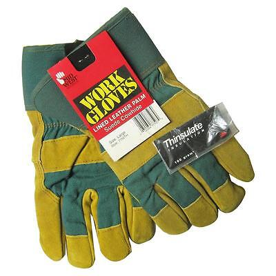 Men's Suede Cowhide Leather Palm Work Glove, Large, Colors Vary Midwest Gloves