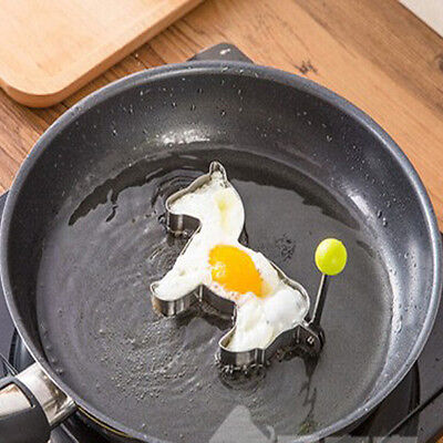 Horse Fried Egg Mold Pony Stainless Steel Pancake Ring Cooking Tool