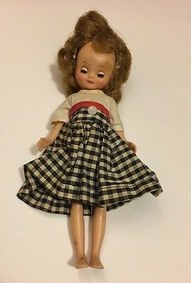 VINTAGE BETSY McCALL CORP DOLL REDHEAD w/ORIGINAL DRESS OUTFIT