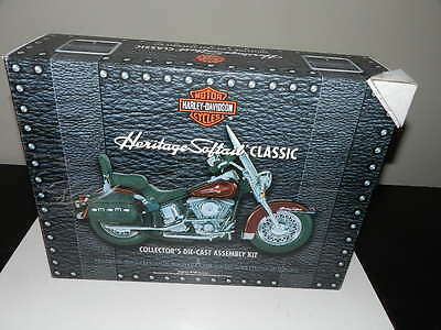 Franklin Mint Harley Davidson Heritage Softail Classic Die Cast Assembly Kit NEW