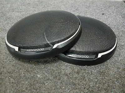 "Kenwood Speaker Grilles 6.5"" 6-1/2"" Grill Cover Kfc-1695Ps Kfc1695Ps Black New"