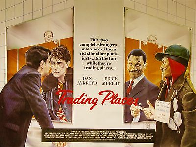 "Trading PLaces 16"" x 12"" Reproduction Movie Poster Photograph"