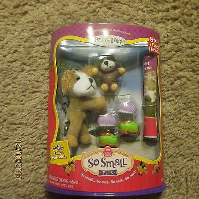 Only Hearts Club So Small Pets Sparky the Dog with baby and storybook INCLUDED