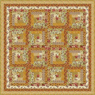 "VIENNA WOODS - 52"" - Quilt-Addicts Precut Quilt Kit Lap size"
