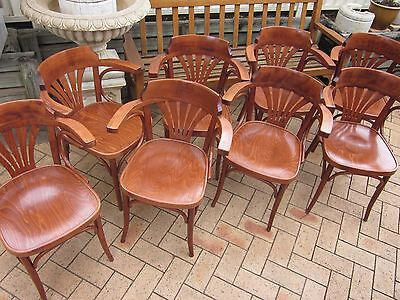 16 X Bentwood Dining Cafe Arm Chairs No.25