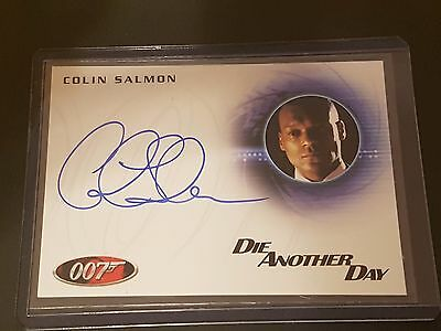 James Bond Mission Logs Autograph A174: Colin Salmon as Robinson Die Another Day