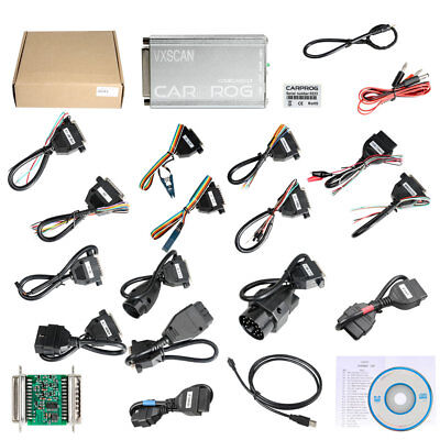CARPROG FULL V10.05 Airbag Reset With Software's Activated/All 21 Items Adapters