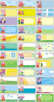 45 PEPPA PIG Personalised Name Stickers,Labels,Tags