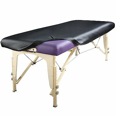 Master Massage Universal Fabric Fitted PU Vinyl leather Protection Table Cover