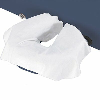 Master Massage Disposable 100 Pack Face Cushion Pillow Cradle Headrest Cover
