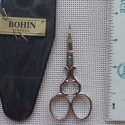 """Bohin small Embroidery Scissors Coeur 3 1/2"""" made in France"""