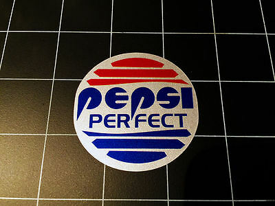 Pepsi Perfect Back to the Future 2 BTTF II decal sticker prop screen accurate!