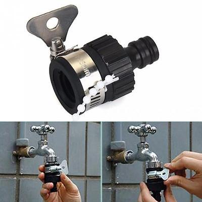 Universal Garden Water Hose Tap Connector Adapter Faucet For Shower Watering