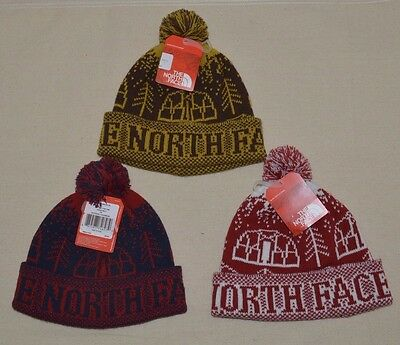 NEW The North Face Men's Reversible TNF Banner Beanie Hat One Size ...