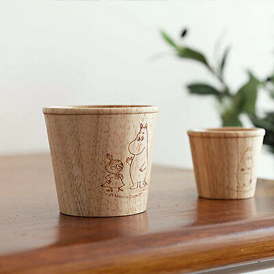 Moomin Wood Storage Cup Container