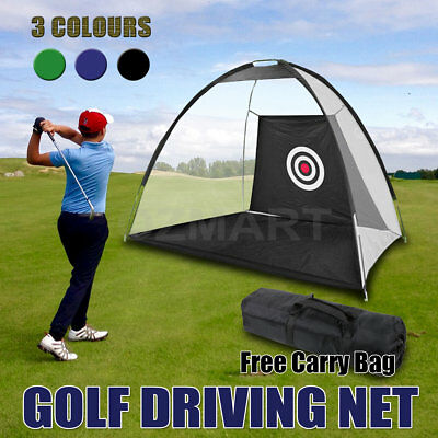 Portable Golf Training Net Tent Cricket Target Sporting Practice Driving Soccer