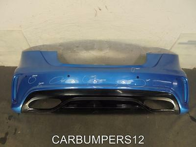 Mercedes A Class W176 Amg Rear Bumper 2016 On - Genuine Mercedes Part *h4