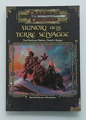 ★ Nuovo Ita ★ Signori Delle Terre Selvagge ★ 3.5 D&d Dungeons And & Dragons ★