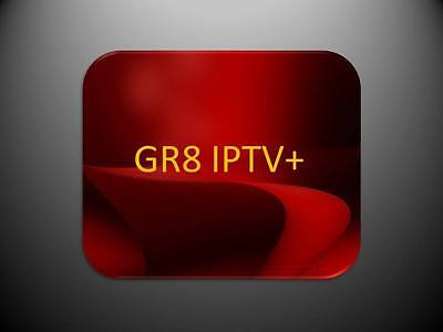 FASTEST, RELIABLE, STABLE GR8 IPTV 1 Month Subscription +2000 channels & VOD