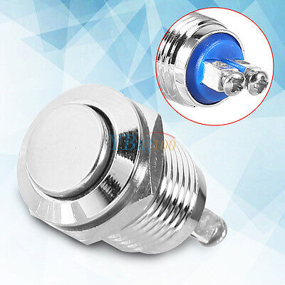 12mm Waterproof Metal Start Horn Button Switch Electrical Momentary Push-Button