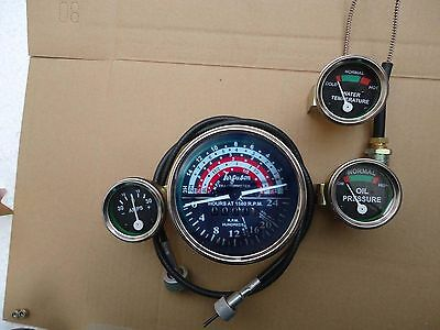 Massey Ferguson Tractor Gauges with Counter Clock wise Tachometer + Cable