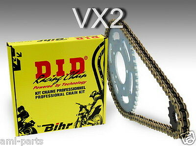 HONDA NX 650 DOMINATOR - Kit chaine DID Type VX2 - 481646