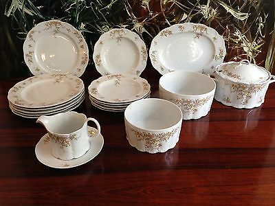 ROSENTHAL MONBIJOU Fortune, 18 pcs Dinner service / 6 Persons