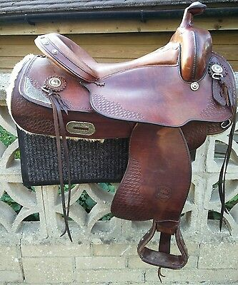 "Western Saddle Puskas 16"" Gunman made in Hungary"