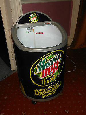 Mountain Dew Aht 70 Bc Ot Can Drinks Chiller Cooler Fridge Shop Display