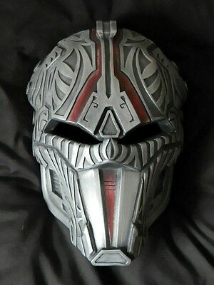 SITH ACOLYTE MASK Cold Cast Aluminium The Old Republic SWTOR Revan