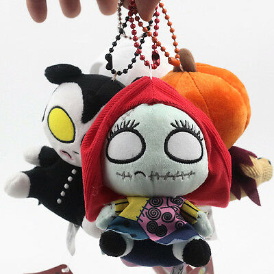The Nightmare Before Christmas Toy Cotton Doll Plush Little Figuine Pendant DIY