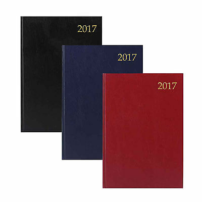 A4 / A5 & Slim Day Per Page / Week to View Hardback/Soft Calendar Diary 2017-TAL