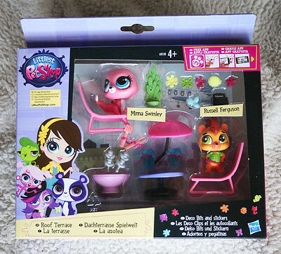 Littlest Pet Shop: Roof Terrace (Minna Swinley & Russell Ferguson). Brand New!