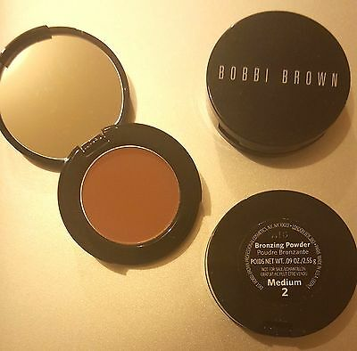 Brand new BOBBI BROWN BRONZING POWDER shade Medium 2 Travel size 2.55g