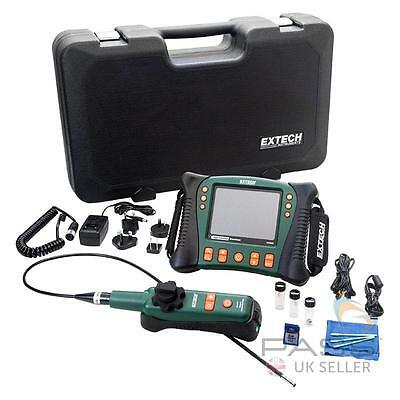 Extech HDV640W HD VideoScope with Wireless Handset/Articulating Probe / UK