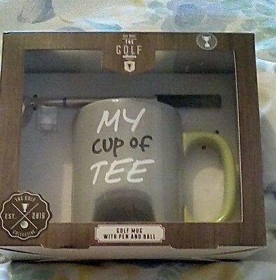 Golf Mug with pen and ball set.
