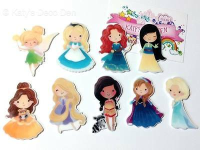 Exclusive Flatback Resin Princess Cartoon Character Cabochons Decoden Crafts