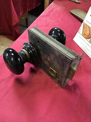 SUPERB - Antique Vintage Door - Handle, Latch, Lock, Knob - Architectural