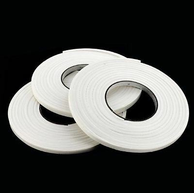 3 Roll Foam Weather Strip Self Adhesive Door Window Tape Draught Excluder Seal