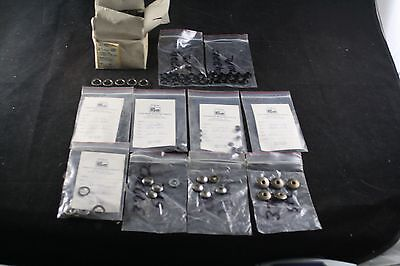Huge Prym Metal Snap Fasteners Rings Grommets Lot Collection New Old Stock Wow