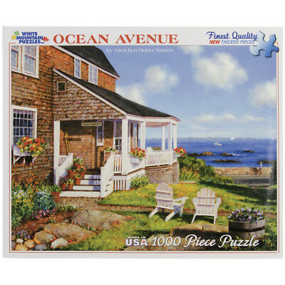 "Jigsaw Puzzle 1000 Pieces 24""X30"" Ocean Avenue WM244"