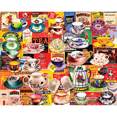 "Jigsaw Puzzle 550 Pieces 18""X24"" Tea Please WM1175"