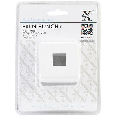"Xcut Large Palm Punch Square, 1"" XC261801"