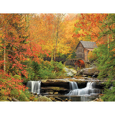 """Jigsaw Puzzle 1000 Pieces 24""""X30"""" Old Grist Mill WM1040"""