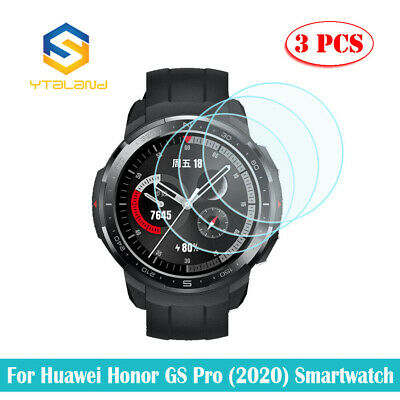 2Pcs 9H+ Tempered Glass Screen Film Guard Protector For Huawei Watch SmartWatch
