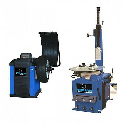 Tyre Changer Machine and Wheel balancer