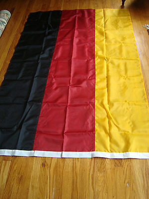 Germany Flag 4' X 6' Nylon Made In Usa Brass Grommets
