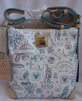 Dooney And & Bourke Run Disney WDW 2017 Marathon Letter Carrier Crossbody Bag 3
