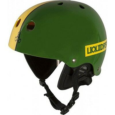 Liquid Force Flash Helmet in Green / Yellow