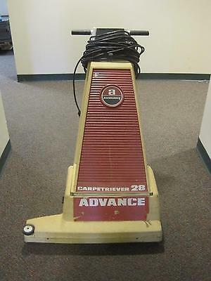 Advance Carpetriever 28 Wide Industrial Commercial Vacuum Cleaner 28""